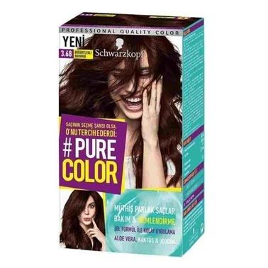Pure 3-68 Böğürtlenli Browne - Saç Boyası Kahve